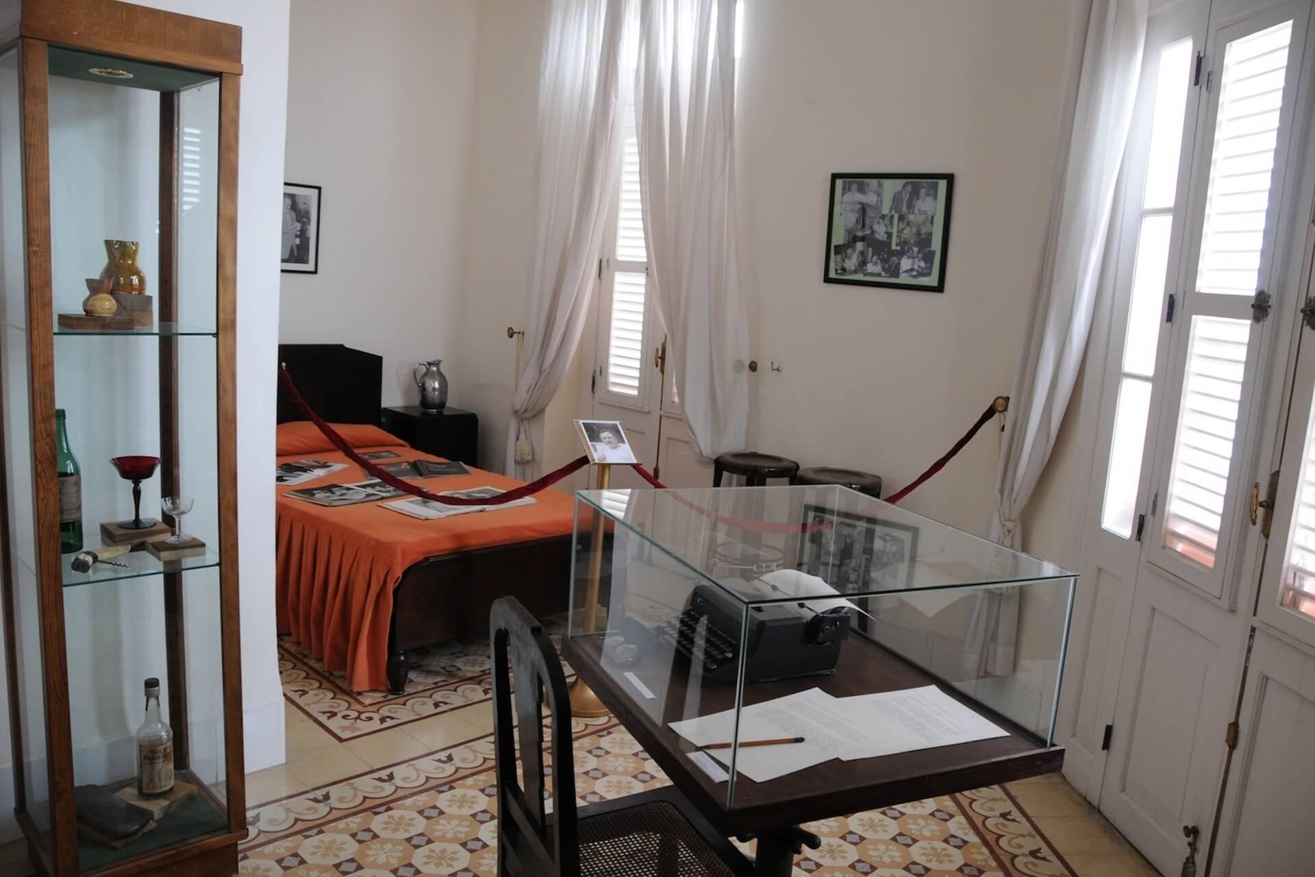 Hemingway'in Ambos Mundos Hotel Odası